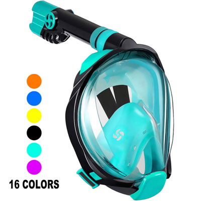 Top 10 Best Full Face Snorkel Mask in 2020 Reviews