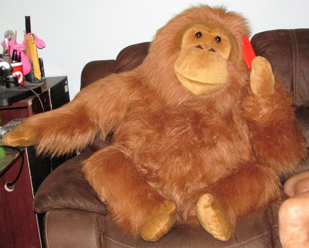 Jumbo Aurora Orangutan 45 Monkey Plush Gorilla Ape Stuffed Animal