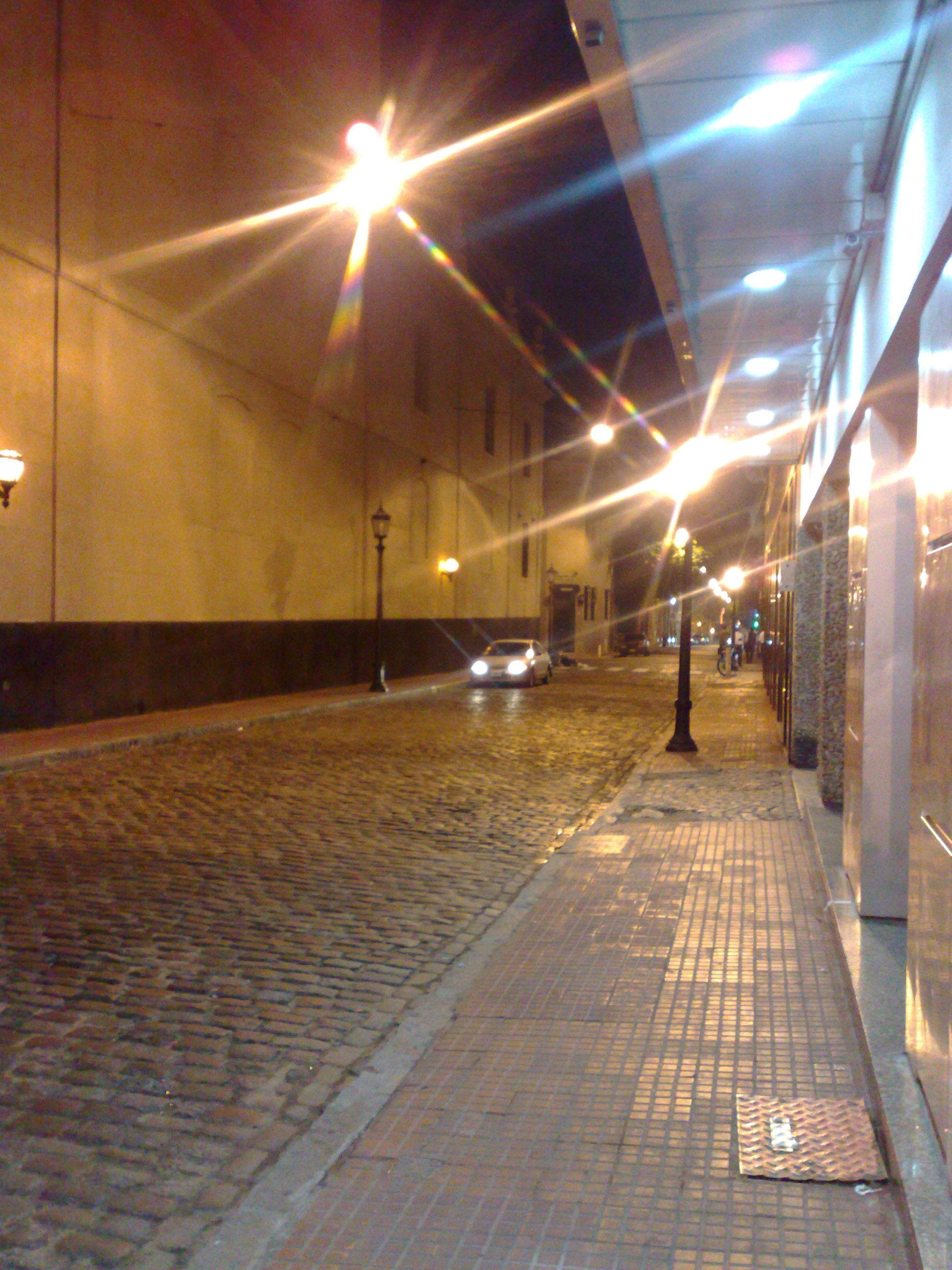 San Telmo con luces