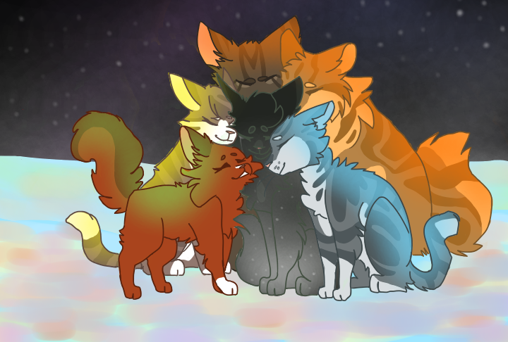 Hollyleaf gets a visit from her family  Hollyleaf, Leafpool