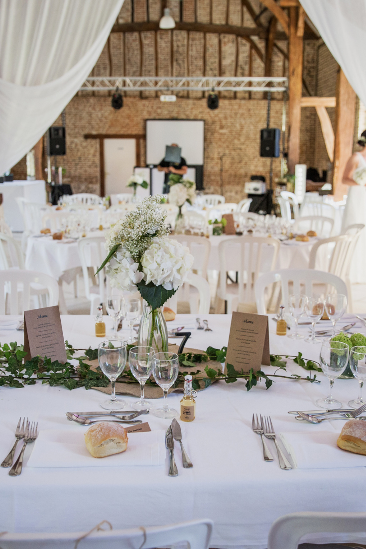 Quels centres de table lorsquon se marie lété ?