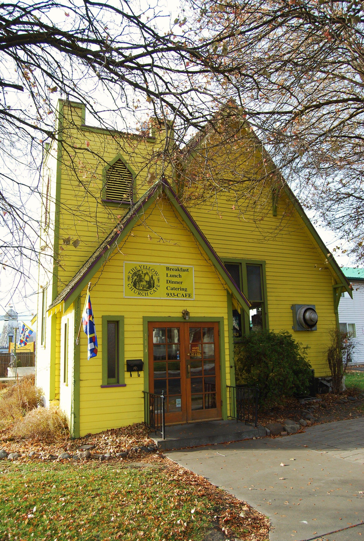 Yellow Church Cafe Ellensburg Wa