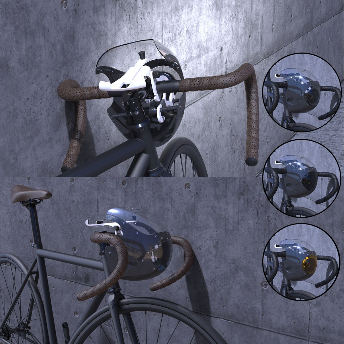 Bicycle Commuter Cowl On Behance Commuter Bicycle Bicycle Real Steel