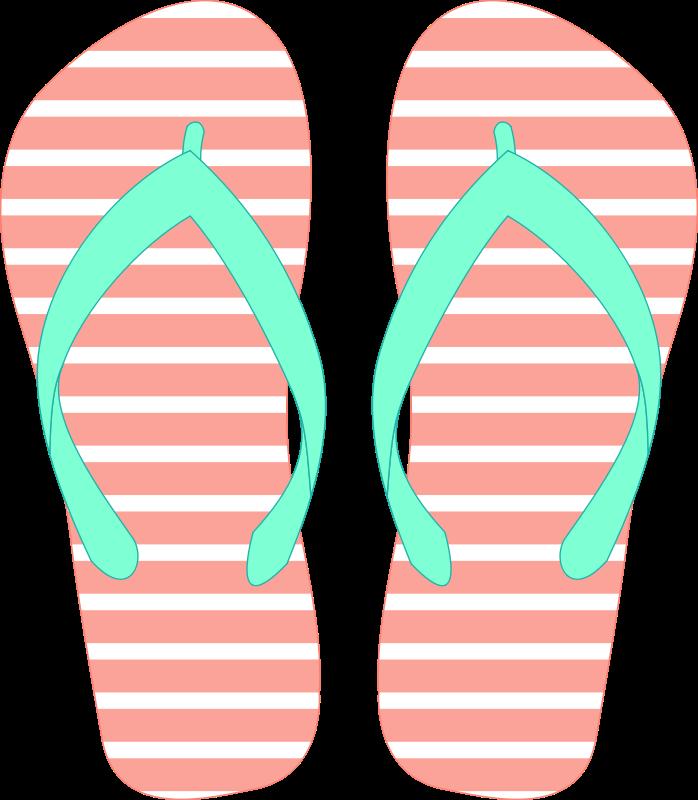 Free Clipart Flipflops 28 Solvera Free Clip Art Clip Art Stripes Pattern