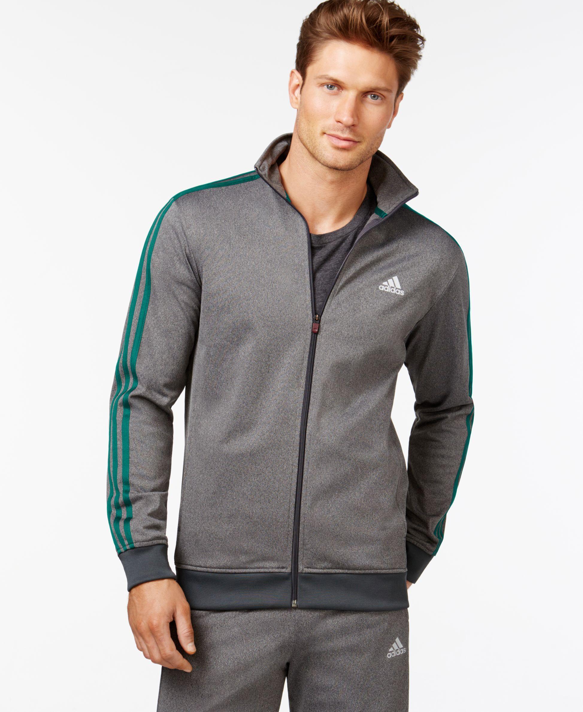 7a63cf437d3a adidas Men s Tricot Full-Zip Track Jacket