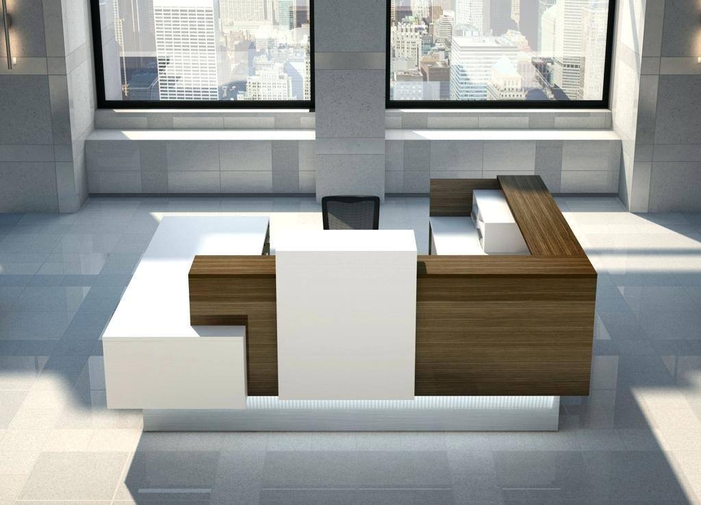 Reception desk medium u shaped reception desk round reception desk