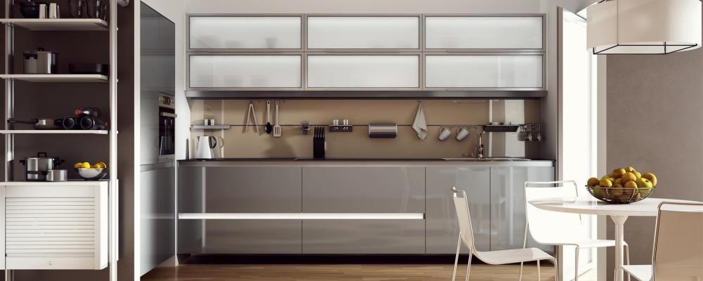 kitchen aluminum frame door with glass inserts modern from Online ...