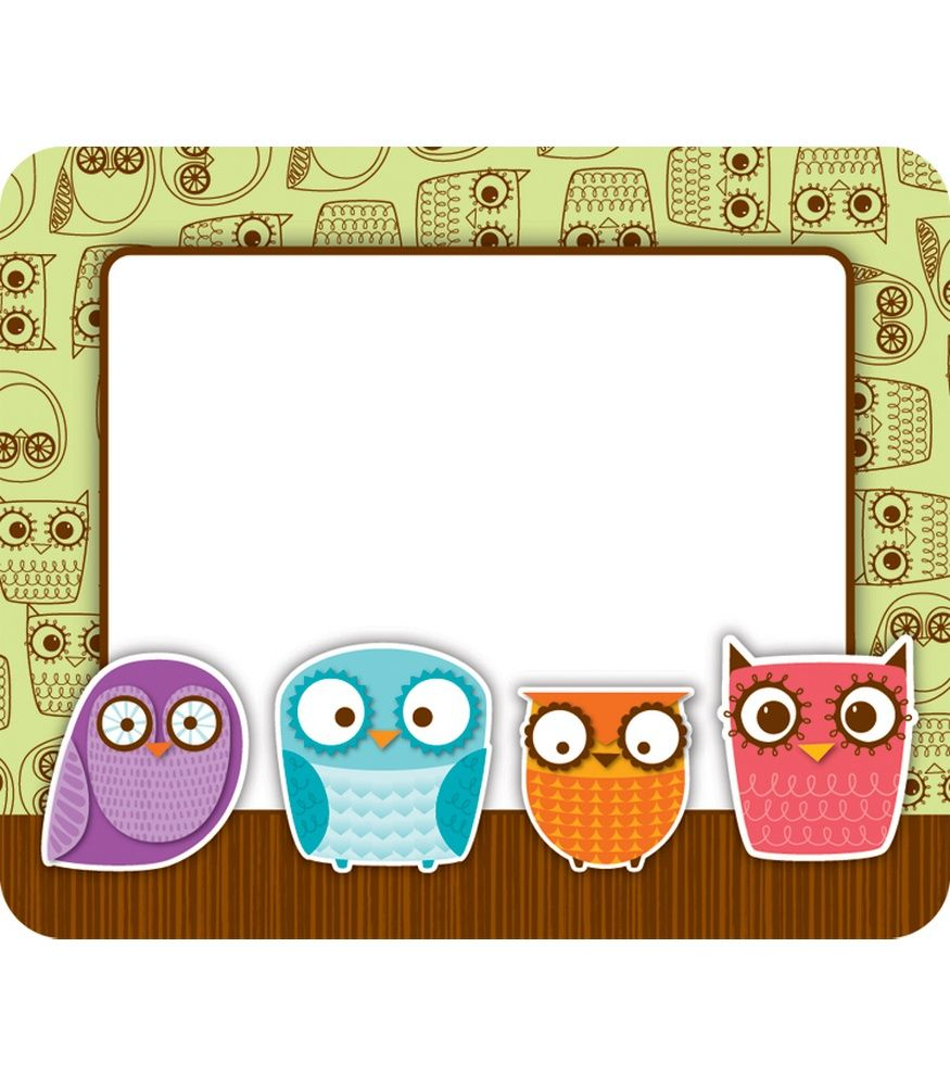 #CDWishList Owls Name Tags - Carson Dellosa Publishing Education Supplies