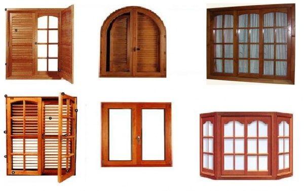 Ventanas de madera modernas - Imagui   Puertas y ventanas ...