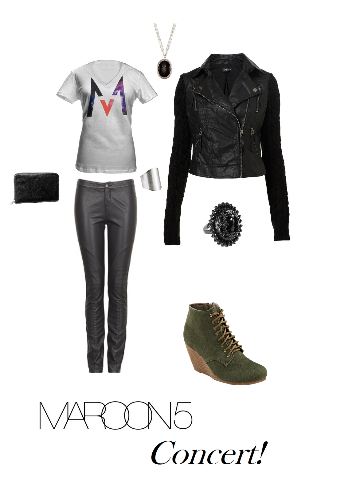1fb08b469b3 That Different Style  Dream Outfit! - Maroon5 Concert