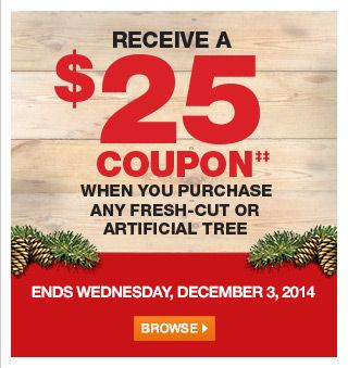 Home Depot Canada Home Depot Canada Coupons Artificial Tree