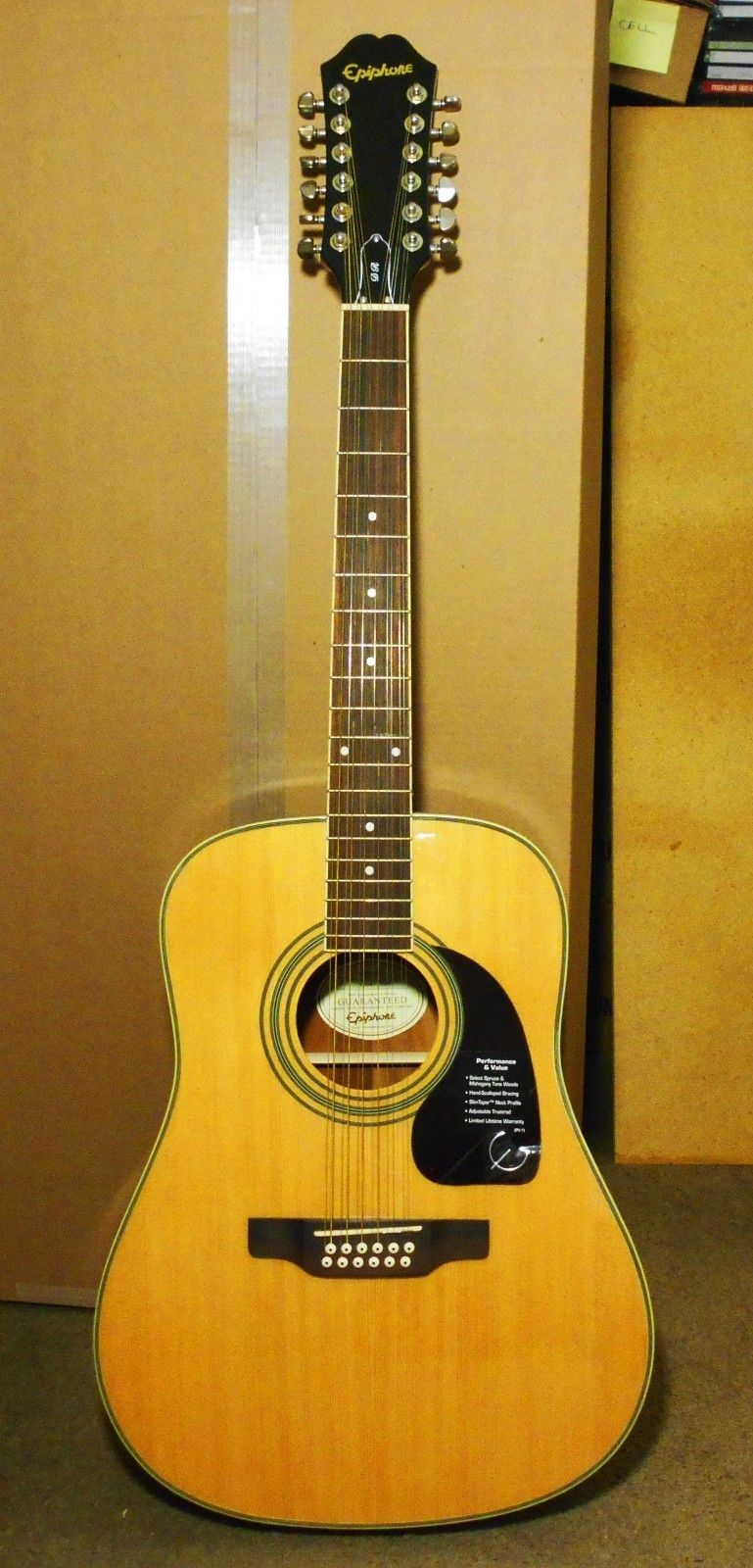 epiphone 12 string acoustic guitar dr 212 acoustic guitars 12 string acoustic guitar. Black Bedroom Furniture Sets. Home Design Ideas