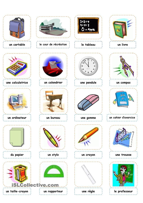 activité Fle+matieres scolaire - Cerca con Google
