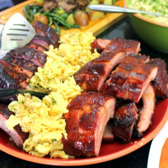 Inspired By eRecipeCards: Sweet Cherry Baby Back Ribs - Feeding Larry Pt 5 - Grilling Time