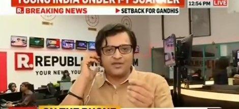 Arnab Goswami Founder Of Republic Tv On Monday Called A Congress Spokesperson Brijesh Kalappa A Worm And Lapdog Of Ga Arnab Goswami Congress Journalism