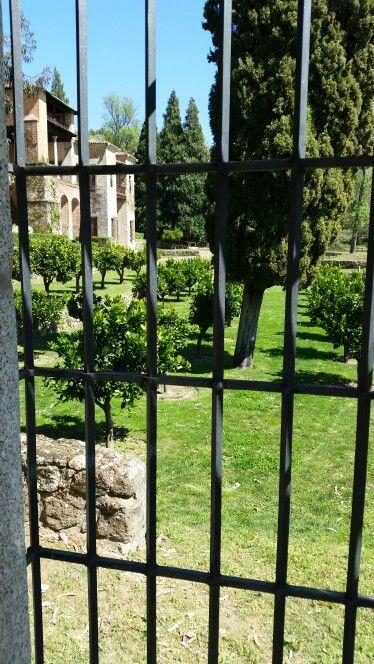 Jardines Monasterio de Yuste.Loremore