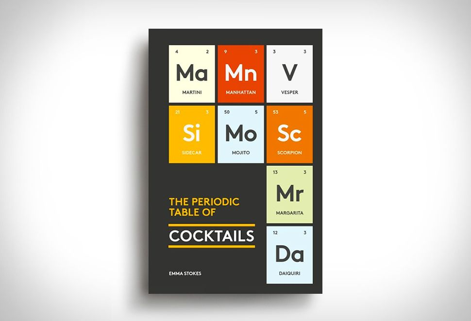 THE PERIODIC TABLE OF COCKTAILS #thatdope #sneakers #luxury #dope - best of periodic table symbols list