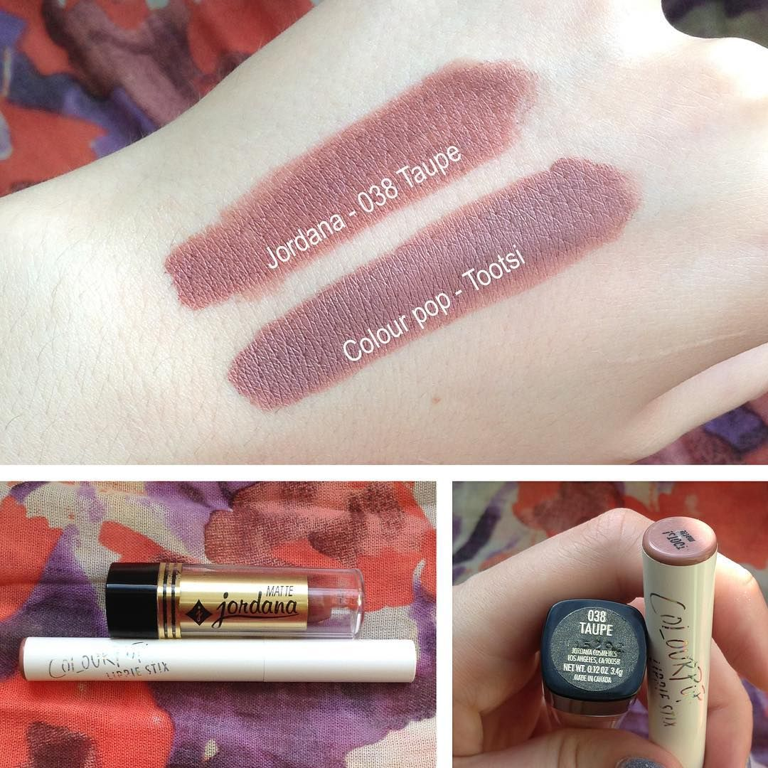 Lip dupes jordana pink passion Mac Please Me lipstick