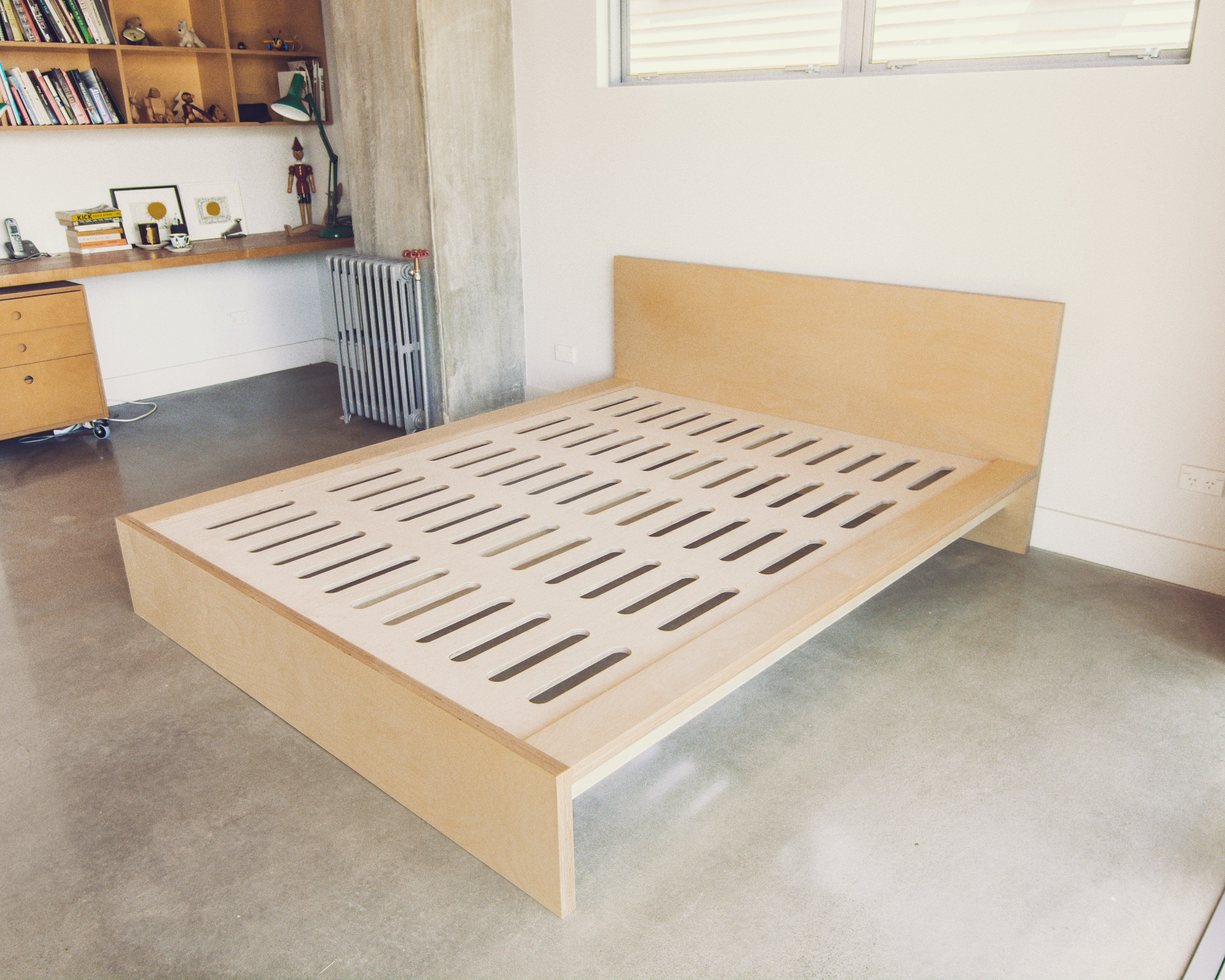 Plywood Bed Plywood Bed Designs How To Make Bed Furniture
