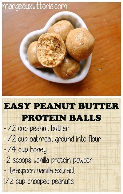 Post Workout Protein Balls & Energy Bites - No Bake, Easy To Make