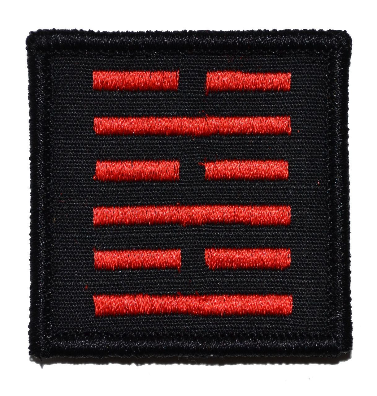 Tactical Gear Junkie Snake Eyes Symbol Gi Joe Ninja 2x2