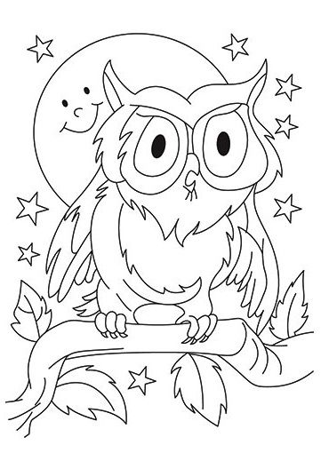 Birds to download - Birds Kids Coloring Pages | 510x361