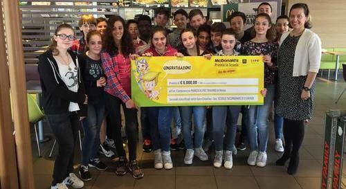 #Lazio: #Roma McDonald's premia con 6mila euro la scuola Ulpio Traiano per le ?Idee che valgono? sul dopo Expo da  (link: http://ift.tt/24LZsOD )