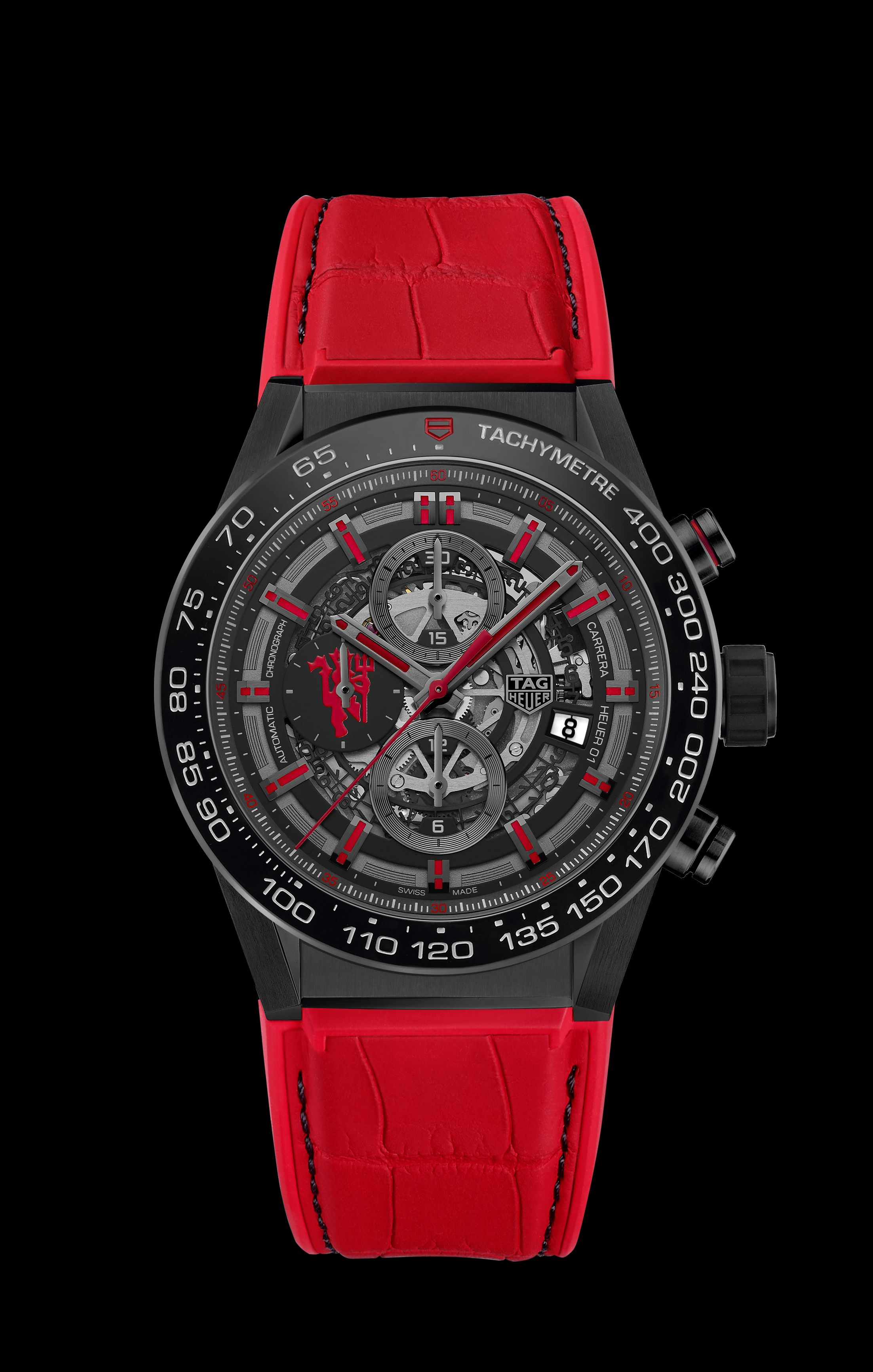 e0546681097 TAG Heuer Announces Partnership with Manchester United Relógios Masculinos