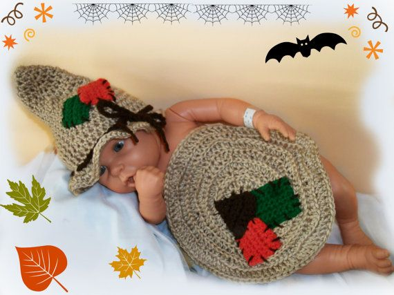 Adorable and Soft Little Knit Scarecrow Hat