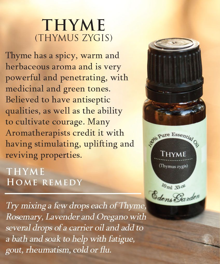 How and Why to Use an Essential Oils Nebulizer Thyme