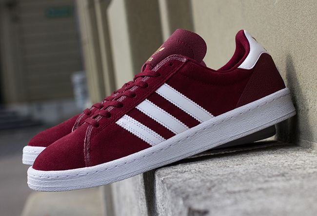 "d88780f5ab1 adidas Campus AS ""Cardinal Red""  shoes"