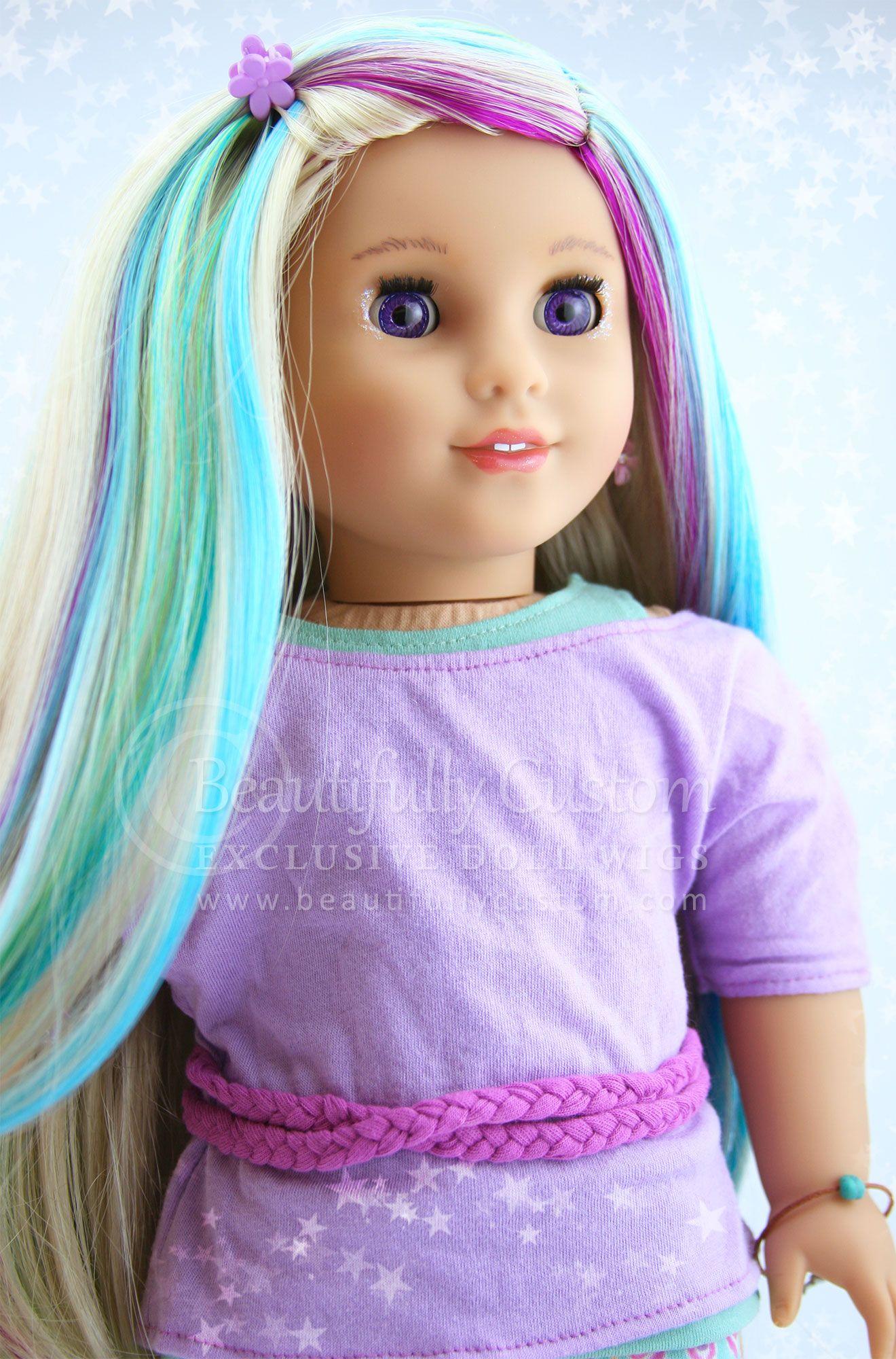 American Girl Doll Wig 22