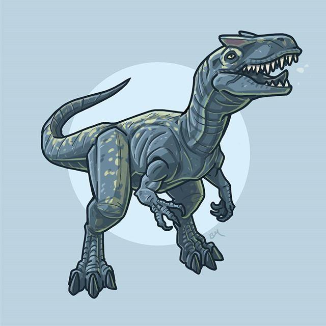 It S Day Eight Of Jurassicjune Today I Ve Illustrated: No Hay Ninguna Descripción De La Foto Disponible