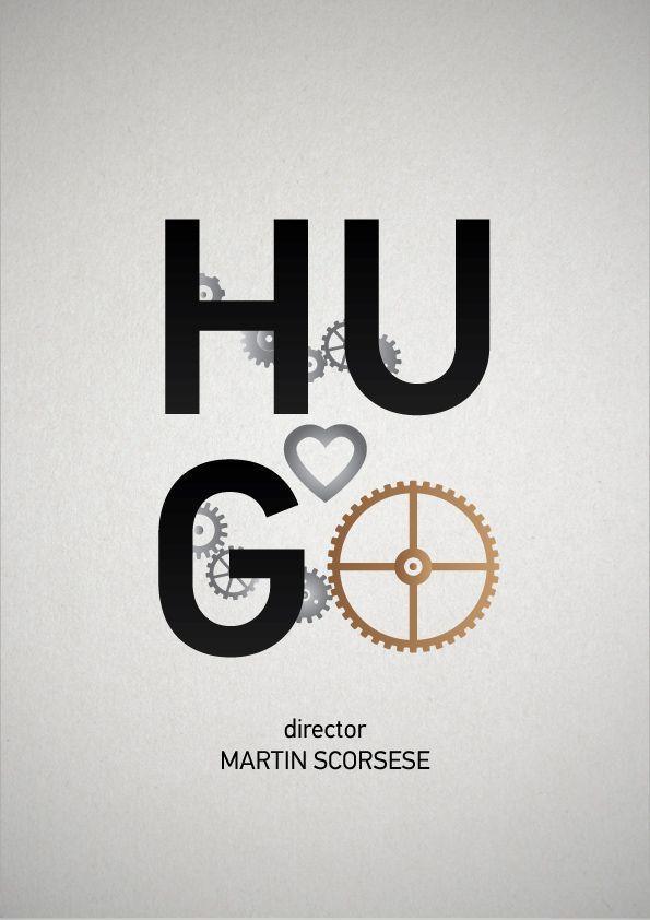 Hugo Cabret Film Posters Minimalist Movie Posters Minimalist
