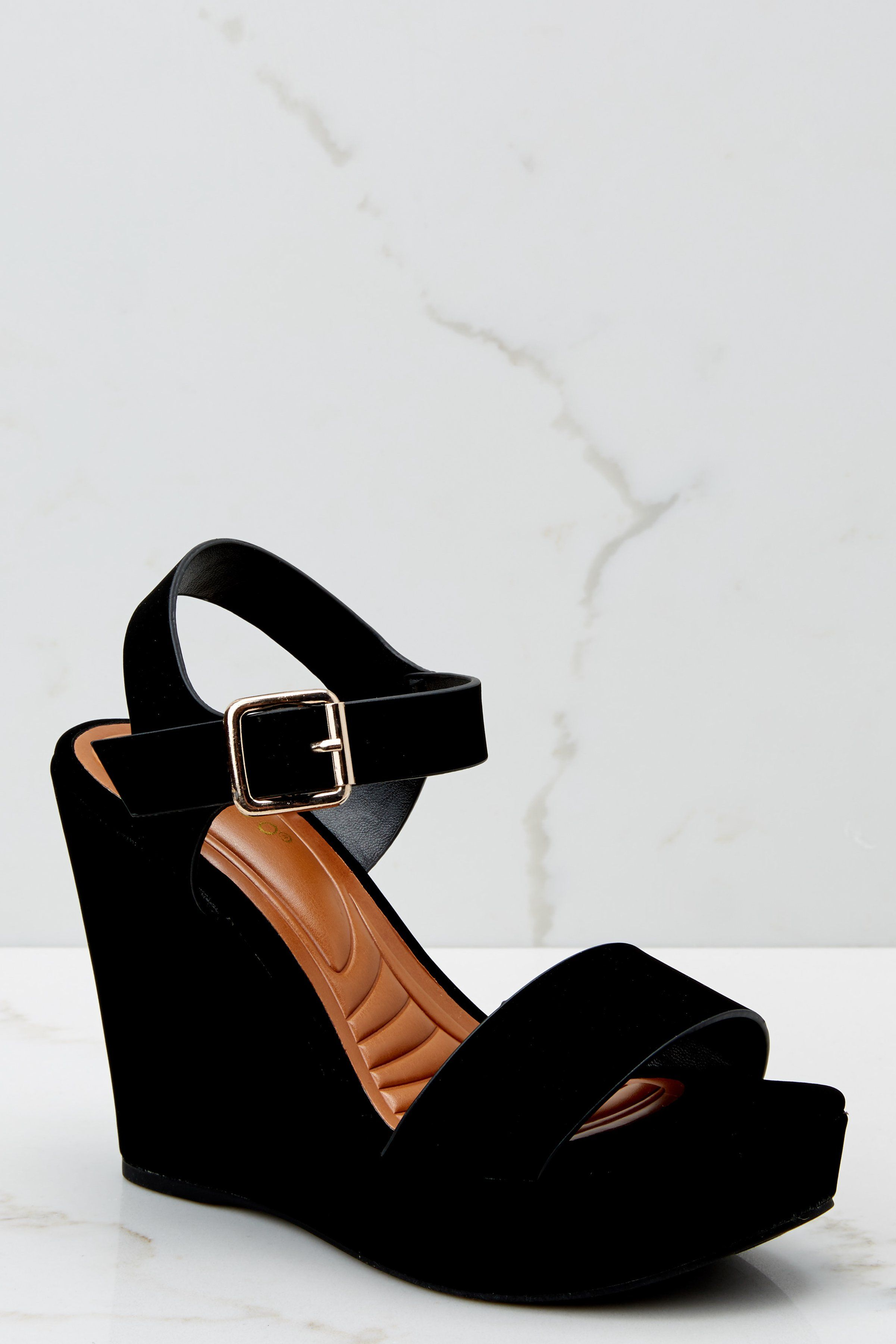 Trendy Black Wedges Chic Wedges Wedges 34 00 Red Dress Boutique Black Heels Wedges Peep Toe Bootie Dress Up Shoes [ 3602 x 2402 Pixel ]