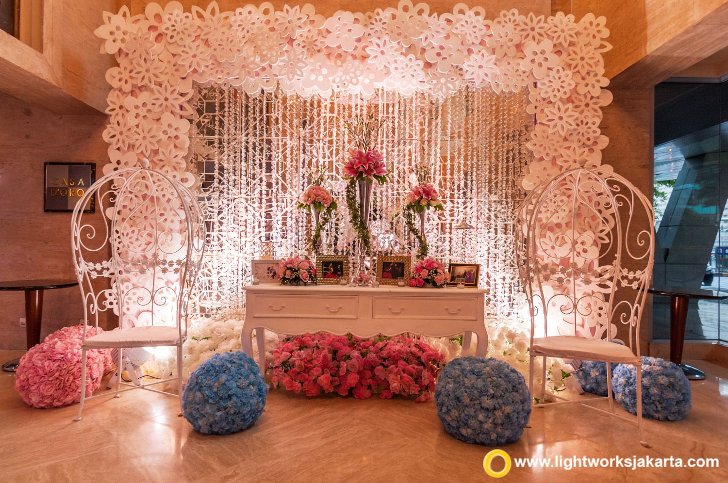 Simple yet gorgeous wedding foyer at the bali room kempinski simple yet gorgeous wedding foyer at the bali room kempinski hotel jakarta made junglespirit Choice Image
