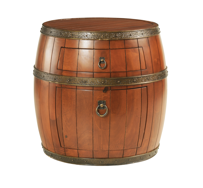 Pirates 2 Drawer Barrel Bedside Unit