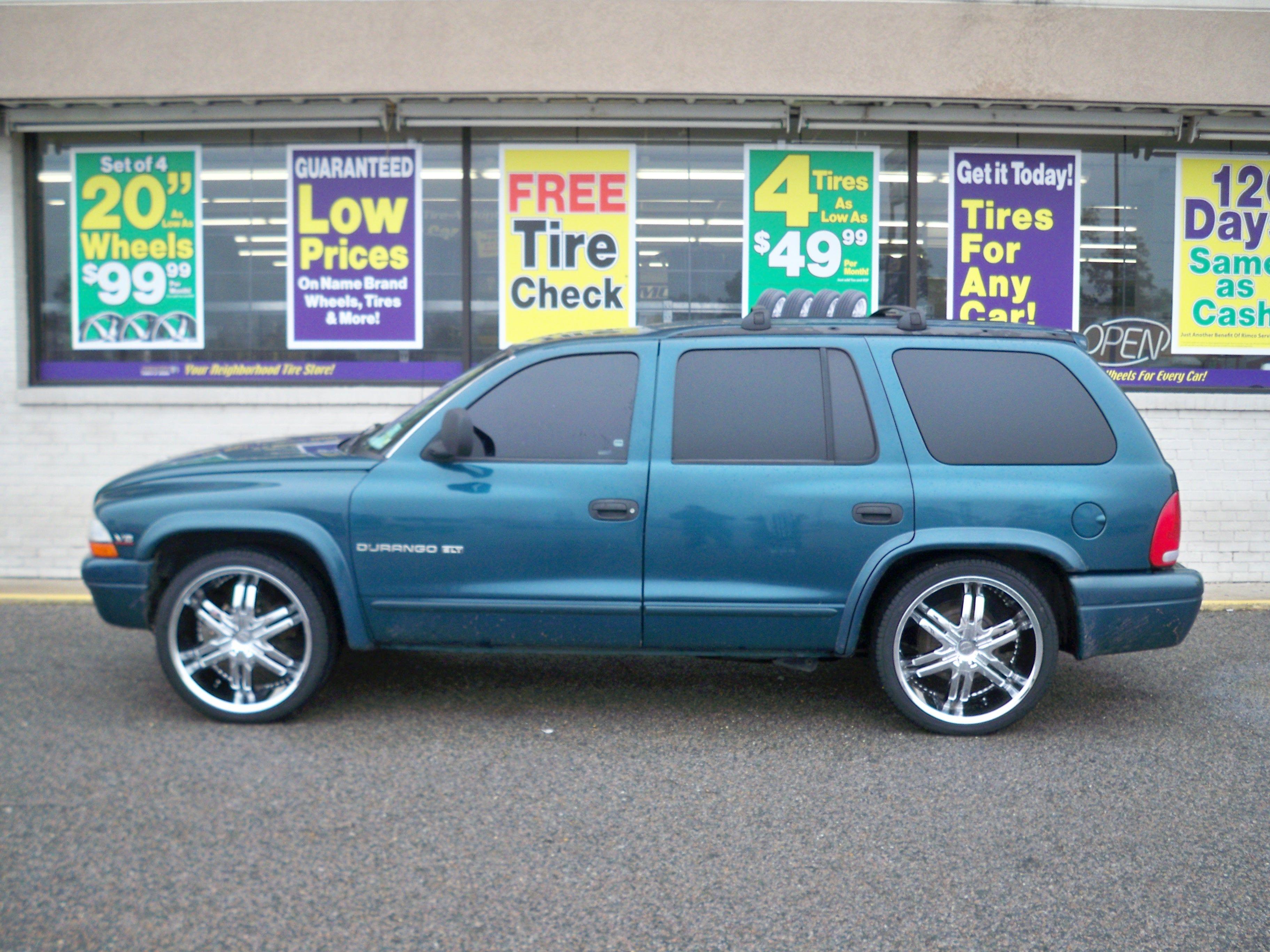 Rent A Tire Dodge Durango Trucks And Girls Custom Wheels