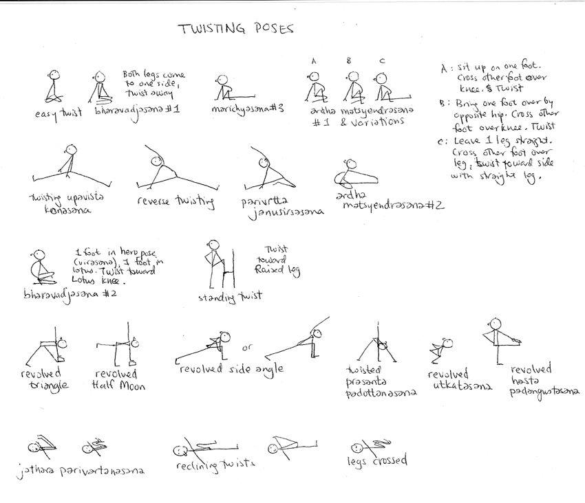 Yoga Stick Figures Yoga Detox Vinyasa Yoga Poses Cool Yoga Poses