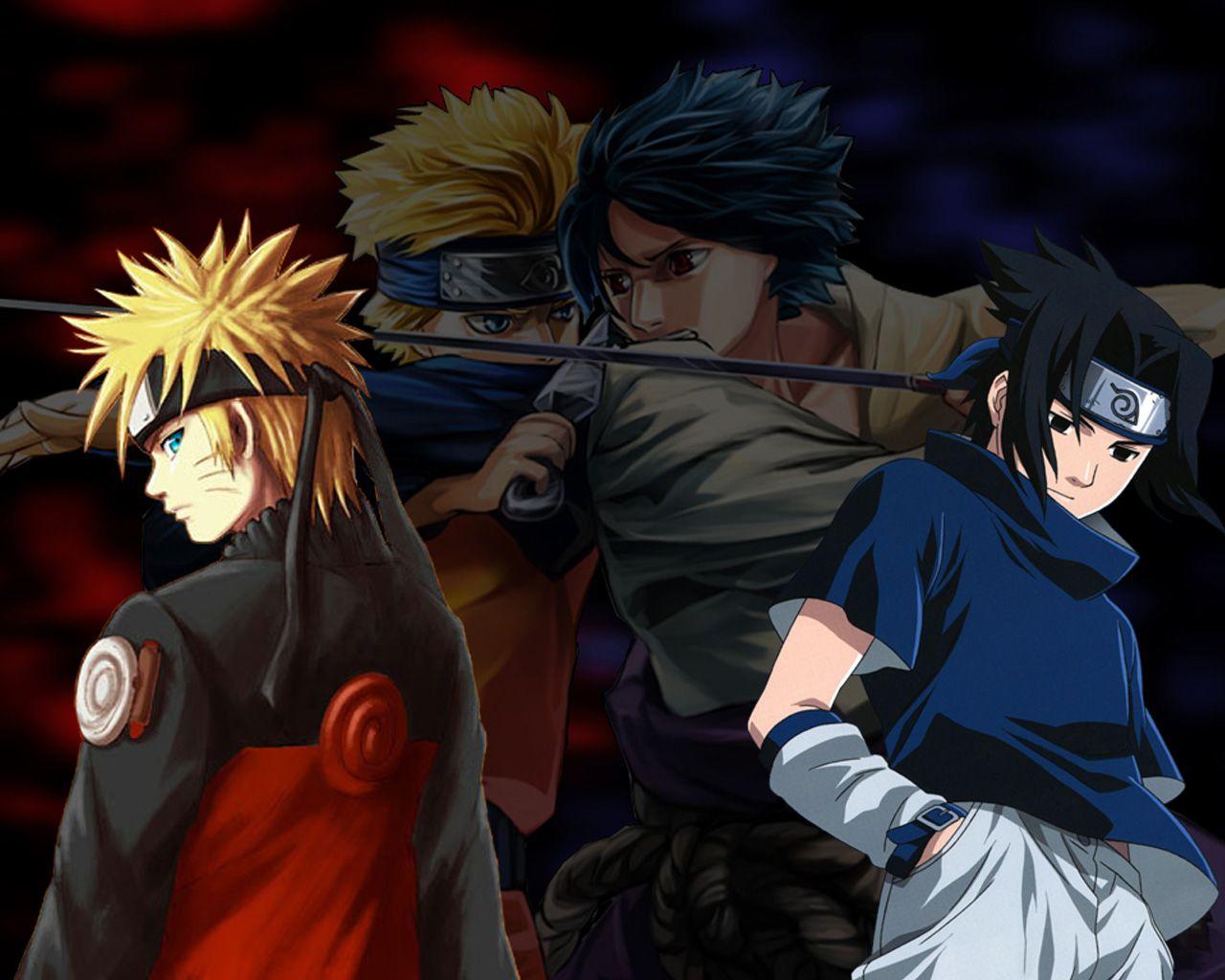 Naruto Vs Sasuke Wallpapers Images Sdeerwallpaper Imagenes De Y