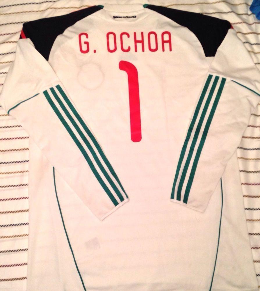 Nike Adidas Club America Mexico Jersey Guillermo Memo Ochoa MEDIUM  adidas 2177d2392