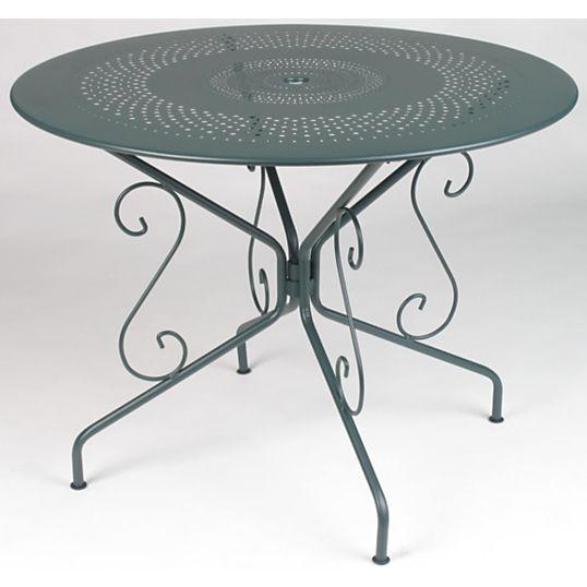 Table FERMOB Montmartre ronde Ø 96 cm | Jardin | Table de ...