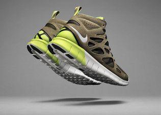 Nike Free High Top   Nike free run 2