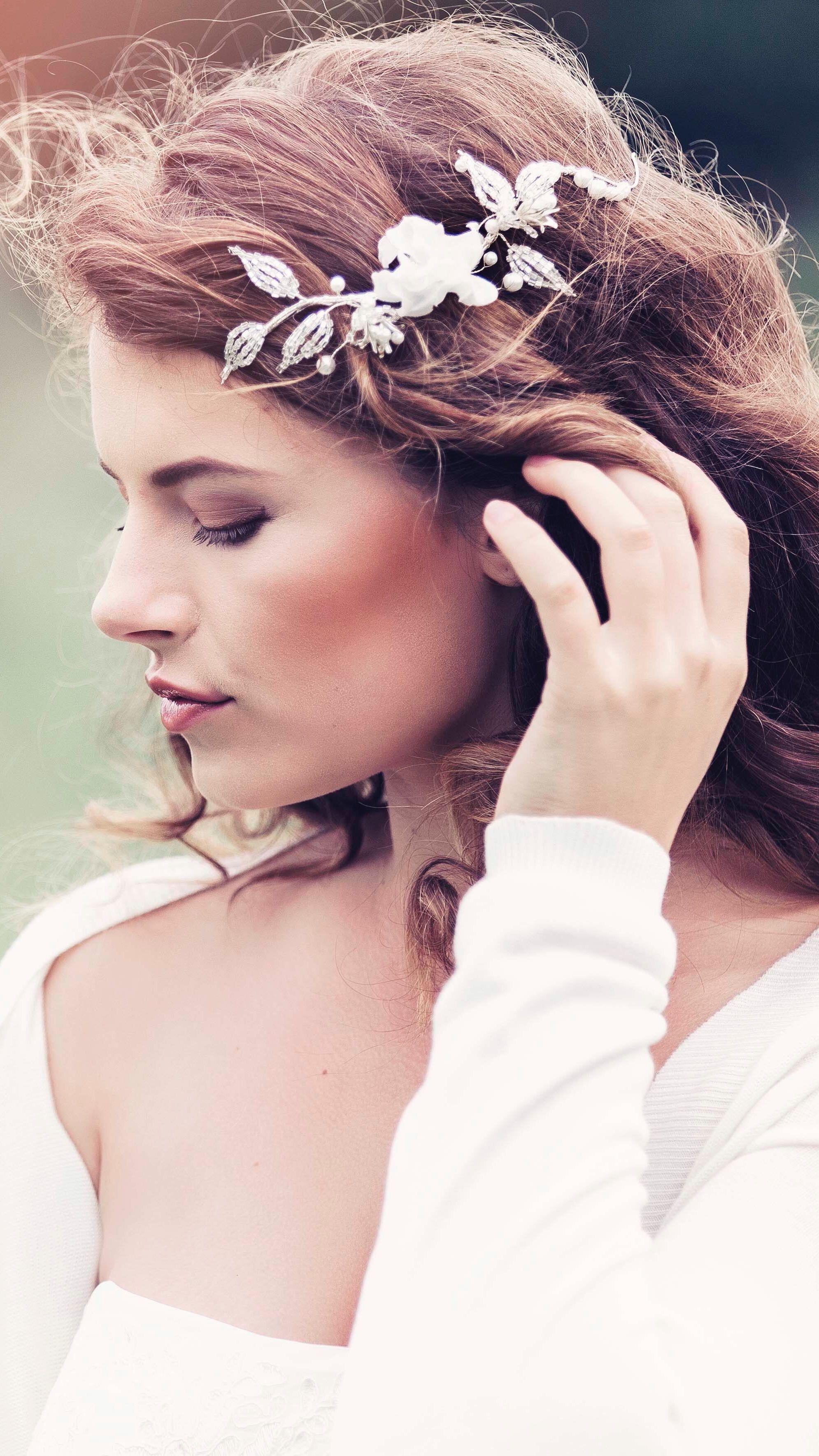 Alma Bridal Hair vine #GD1050 | Hair Accessories/Veils | Pinterest ...