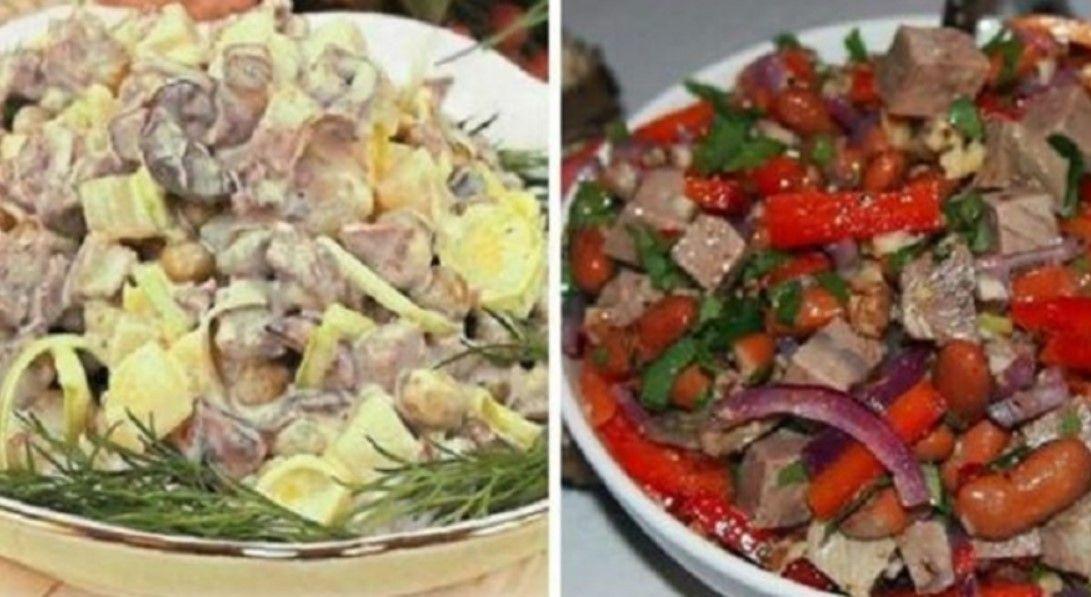 Отличные варианты салатов с мясом (с изображениями ...