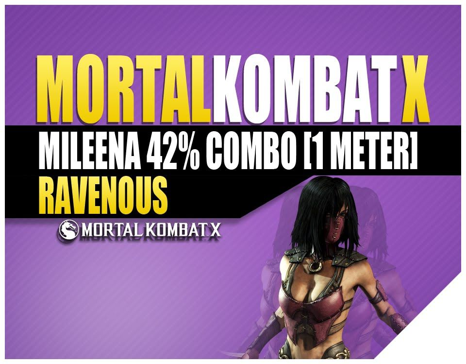 mortal kombat xl mileena moves xbox