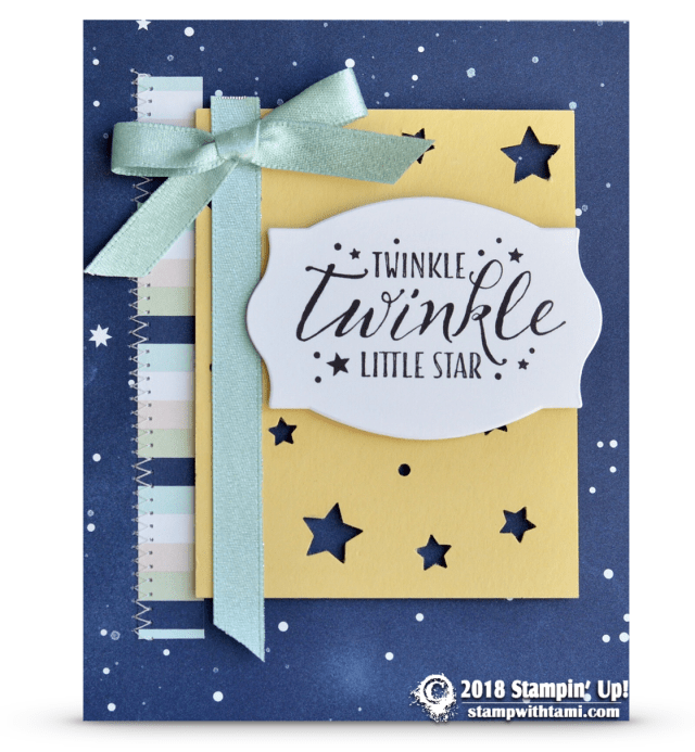 card twinkle twinkle little star card  baby cards card