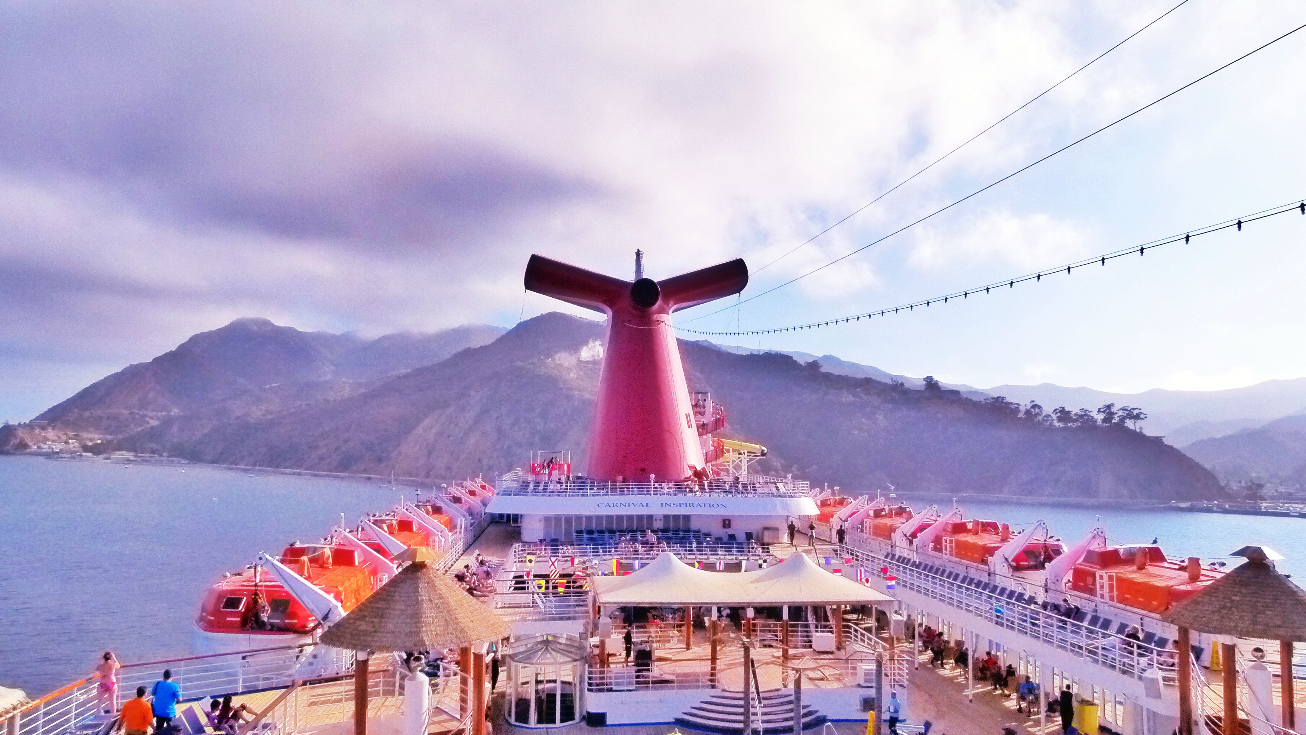 Good Bye To Catalina Island And Heading To Ensenada Mexico On The - Catalina cruises