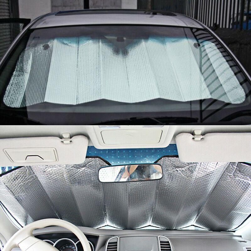 Car Cover Back Front Rear Windshield Sunshade Window Sun