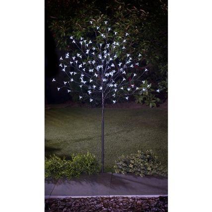 Led Solar Blossom Tree 4ft Solar Tree Lights Outdoor Trees Outdoor Solar Lights